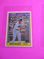1988 Topps TIFFANY, UK American Baseball Mini,  MINT Wade Boggs #4 Rare!