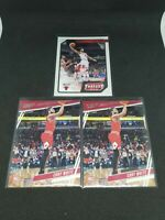 2019-20 Chronicles Coby White Rookie RC Lot Prestige & Threads