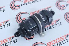 6AN Inlet//Outlet 10 micron FUELAB 81801-1 In-Line Fuel Filter St/&ard Length