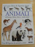 Il mio libro di figurine degli animali di Europa, Africa - Baby Cart  Nuovo