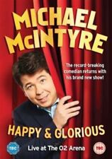 Michael McIntyre Happy & Glorious Live at The O2 Arena 2015 DVD