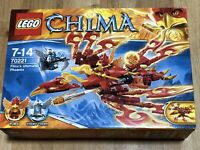 Lego 70221 Legends Of Chima Flinx's Ultimate Phoenix BNIB NEW