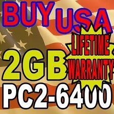 2GB HP COMPAQ EliteBook 2530p 2730p 6930p Memory RAM