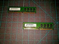 Micron 2 X 2GB RAM PC2-64000