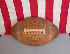 Vintage Sonnett Official Nfl Leather Football w/ Laces Y.A.Tittle Model F5 Nice!