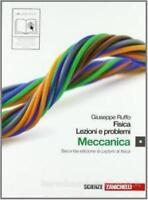 Fisica lezioni e problemi vol.1 Ruffo ZANICHELLI editore cod:9788808115812