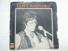 CLIFF RICHARD PS living doll/theme dream RARE EP SINGLE 45 1960 INDIA INDIAN EX