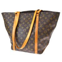 Auth LOUIS VUITTON Sac Shopping Shoulder Bag Monogram Leather BN M51108 31MG673