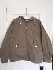 Penfield Gibson Hooded Jacket | Men's Large | Khaki Tan | Waxed Cloth | NEW