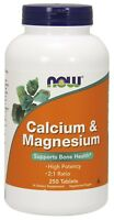 NOW® Calcium & Magnesium, 250 Tablets