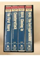 Great Battles of World War II VHS Box Set 4 Tapes Readers Digest Pacific Victory