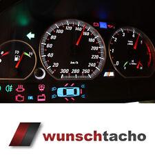Tachoscheibe für Tacho BMW E46 Benziner *Vamp*  300 kmh Top