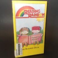 Reading Rainbow VHS Tape THE RUNAWAY DUCK Program #40 LeVar Burton USA