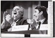 Original Press Photo Cyril Smith MP with David Steel MP 9.9.1973