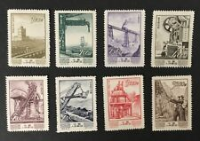 PRC China 1954 S8. Industrial Development.  Sc#214-221. MH.