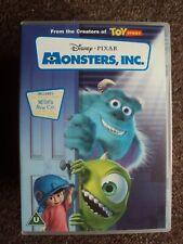 DISNEY PIXAR MONSTERS INC DVD VGC