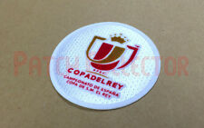 Spanish COPA DEL REY (King's Cup) 2013-2014 Final Soccer Patch / Badge