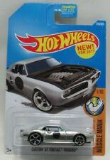 Hot Wheels Muscle Mania 1/10 Silver Custom '67 Pontiac Firebird 335/365 Mattel
