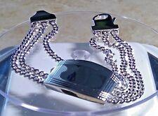 DOLAN BULLOCKSterling SILVER  chain Bracelet 36 GRAMS MSRP $285