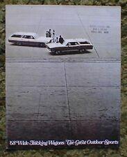 1968 Pontiac Wide Track Wagon Brochure 68