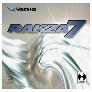 Yasaka Rakza 7 Color-Red,Thickness-2.0mm Table Tennis Racket Accessories Japan