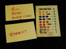 DAMAGED ANTIQUE SLOT MACHINE REPRO MISC MIXED METAL AWARD CARD #MMA117