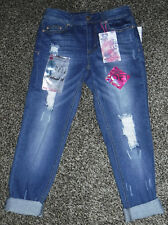 NWT Junior Girls Almost Famous Relaxed Fit Jeans Size 3