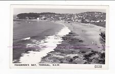 FISHERMEN'S BAY, TERRIGAL NSW early RPPC Camping ground Boat Shed Ramp AUSTRALIA
