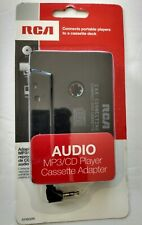 New In Box RCA Audio MP3/CD Player Cassette Adapter AH600R Free Shipping!!!