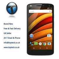 Motorola XT1580 Moto X Force Black 21MP Camera Brand New