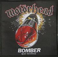 MOTÖRHEAD PATCH / AUFNÄHER # 46 BOMBER - 10x10cm