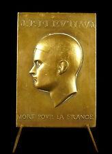 Médaille Jean Pierre Fleutiaux mort pour la France société d'Aviron 1937 Medal