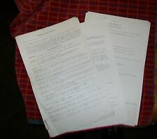 R.A.F. LECTURE NOTES.INTERNAL COMBUSTION ENGINE DH GIPSY QUEEN Mk 32 AERO ENGINE