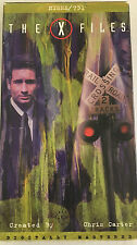 X-FILES 1 VHS Tape 4104 1995 Nisie & 731 ~ Anderson/Duchovny