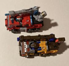 Transformers Energon Inferno & Roadblock Lot Complete Hasbro