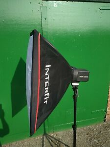 Interfit EX150 Studio Lighting Head with Softbox - Stand not included
