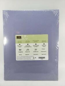 WISTERIA WONDER Cardstock 8.5 X 11 Stampin Up #122922 NEW