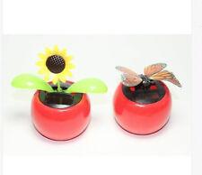 Flip Flap Wings Dancing Butterfly & Solar Sunflower Bobble Plant