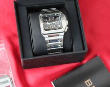 Breil Milano BW0449 Quartz Edelstahl Damenuhr 40 mm mit Box
