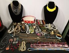 Vintage - Now Costume Jewelry Mixed Lot Junk Drawer Estate Sale Over 5.5 lbs