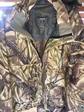 SIMMS Fishing Products Gore-Tex Camo Duck Hunt/Fishing Used Jacket