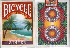Four Seasons Summer Bicycle Playing Cards Poker Size Deck USPCC Custom Limited