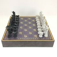 Harry Potter Wizard Chess Game Set Noble Collection Deluxe Edition 2002 Complete