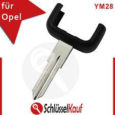 Opel Autoschlüssel Gehäuse Unterteil YM28 Schlüsselbart Astra Combo Corsa Neu
