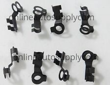 8 OLD SCHOOL THROTTLE ROD LINKAGE CLIPS! FORD 1950's & UP! TRUCKS/CARS