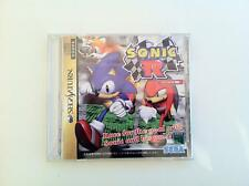 Sonic R Sega Saturn SS japan