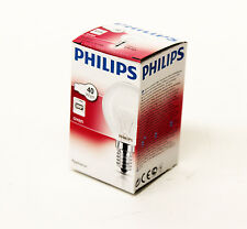 4 x PHILIPS 40W E14 SES 300 DEGREE OVEN BULB COOKER LIGHT 300C LAMP  8297 X 4