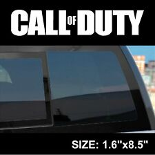 Call Of Duty Logo Decal Sticker, Inifity Ward, Xbox, Playstation