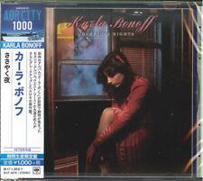 "Karla Bonoff  SEALED BRAND NEW CD ""Restless Nights""  Japan OBI"