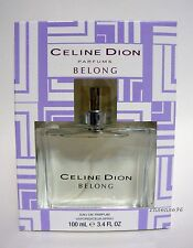 CELINE DION BELONG WOMEN PERFUME BIG EDP 3.4 OZ SPRAY 100 ML NEW PACKAGE NIB